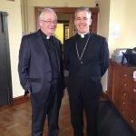 Fr. Padraig and the Papal Nuncio